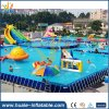Customized Metal Wall Swimming Pool, Metal Frame Swimming Pool, Metal Frame Pool