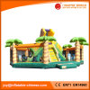 Inflatable Jumping Bouncy Moonwalk Giant Tree Slide for Kids Toy (T6-302)