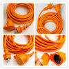 IP44 European Waterproof Extension Cord with Spring Shutter H05rn-G H07rn-F