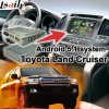 Android 5.1 GPS Navigation System Video Interface for Toyota Land Cruiser J200 etc