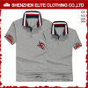 Wholesale Customised Logo Cheap 100% Cotton Polo Shirts for Mens (ELTPSI-43)