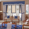 Durable Affordable 100% Polyester Hotel Apartment Fabric Curtains