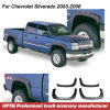 Car Accessories Injection Mould Fender Flares for Chevrolet Silverado 2003-2006