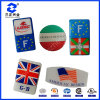 Country Flag Epoxy Resin Sticker (SZXY068)