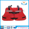 Adjustable Red CCS Solas Approved Marine Working Vest Three Piece PVC Foam Life Jacket