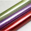 Showy Patent Glitter Artificial PU Leather for Shoes, Bags, Furniture, Decoration (HS-Y76)