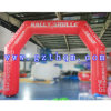 White Inflatable Arch for Advertisement/Inflatable Finish Line Arch