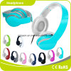 Light Blue Colorful Customized Logo Perfect Sound Effect Music Headphone