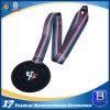 Customized Dyed Black Sports Promotional Medal Medallion