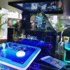 2017 Newest Magic Cube Arcade Game Machine with Holographic Technique