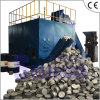 Aluminium Chips Sawdust Cuttings Horizontal Briquette Machine