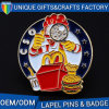 OEM Promotional Cheap Custom Logo Metal Badge
