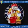 OEM Promotional Cheap Custom Logo Metal Badge