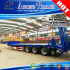40FT Container Lock Low Bed Semi Trailer for Excavator Transportation