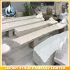 Garden Decoration Granite Bench with Carved Animals