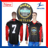 Healong Customized Sportswear Sublimation Printing Reversible Hockey Jersey