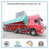 Semi Truck Trailer of 3 Axles Side Dumper/ Tipper Truck From Manufacture