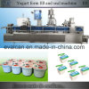 Automatic Yogurt, Ice Cream Cup Forming Filling Sealing Packing Machine