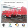 Semi Truck Trailer with 3 Axles Stake Truck From Manufacture