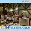 Antique New Creative Style Bar Lobby Sofa Set with Metal Decoration
