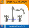 New Design Brushed Nickle Basin Faucet/Mixer/Tap From China
