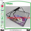 Cosmetic Store Steel Wire Portable Shopping Basket