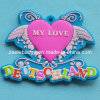 Butterfliy-Shaped Soft PVC Keyring for Promotion