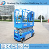 Mini Electric Scissor Lift with Double Hydraulic Cylinder