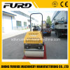 Ride-on Type Dual Drum Mini Asphalt Roller for Sale