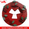 Diamond Grinding Plate for Concrete Flooring with Quick Change System