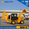 Aolite Brand 2.5ton Small Tractor Wheel Loader Backhoe for Sale