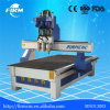 3 Combined Spindles Wood CNC Router Machine with 3 Bits Kits Cutting Tools Used for Wood Doors, Furniture, Kitchen Cabinet