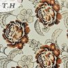 Printing Flower Pattern Knitted Fabric