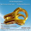 Gold Finish Brass Precision CNC Machining Part of China Factory