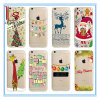 Christmas Decoration Gift iPhone6 iPhone6s iPhone7 Plus Transparent Coloured Soft Cartoon TPU Case/Shell