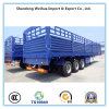 China 60 Tons Stake Fence Semi Trailer, Utility Cargo Truck Trailer for Sale
