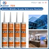 High Performance Acetoxy Silicone Sealant (Kastar731)