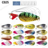 Top Grade Colorful Metal Fishing Spoon Lure