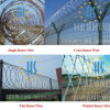 Y Shape Fence Top Installing Razor Wire