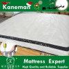 Mechanics Principle Foam Pillow Top Pocket Spring Mattress Rolled up