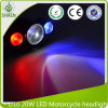 U10 20W LED Motorcycle Laser Light 12-80V for Car, Motorcycle, Truck