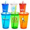 Double Walls Plastic Water Tumblers