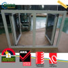 Double Pane Tempered UPVC/PVC Hurricane Impact Window Designs