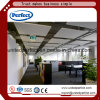 Green Decoration Materials Acoustic Fiberglass Ceiling Baffle /Fiberglass Ceiling Tiles