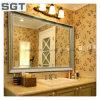 Customized Decorative Mirror Polished Bathroom Silver Mirror