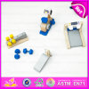 2015 New Invention Kids Wooden Gym Toy, Mini Cheap Christmas Wooden Toy Gym for Children, DIY Gym Equipment Toy for Baby W06b033
