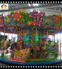 18 Seats Forest Carousel with Lights and Music Amusement Ride