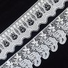 Factory African Lace Fabrics Switzerland Changle Flower Gallon Lace Trim L162
