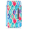Colorfull Flower PU Leather Case Wallet Filp Cover for iPhone6 6s