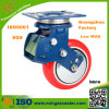 Shock Absorption PU Swivel Caster Wheel for Transport Dolly